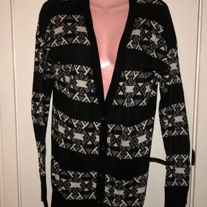 Sweaters - Mossimo graphic cardigan